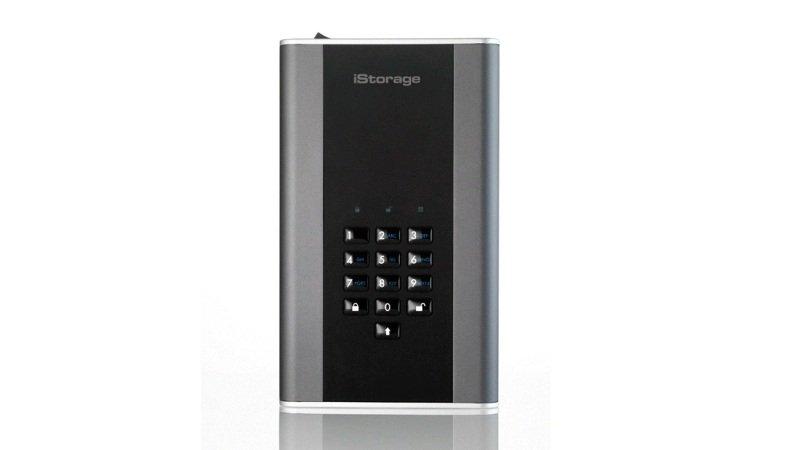 iStorage diskAshur DT2 10TB Hardware Encrypted Portable Hard Drive