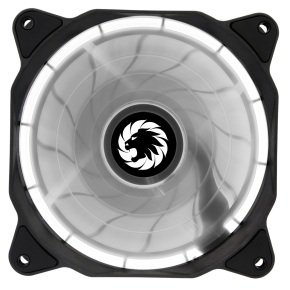Game Max Eclipse White Ring LED 12cm Cooling Fan