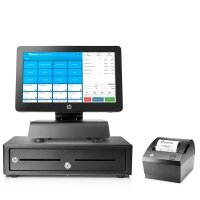 HP RP2 EPOS  Retail System 4gb / 128SSD/ Win10 IOT  - 1 Year Sortware License, CashDrawer, Printer & HP 5 Year Onsite Warranty