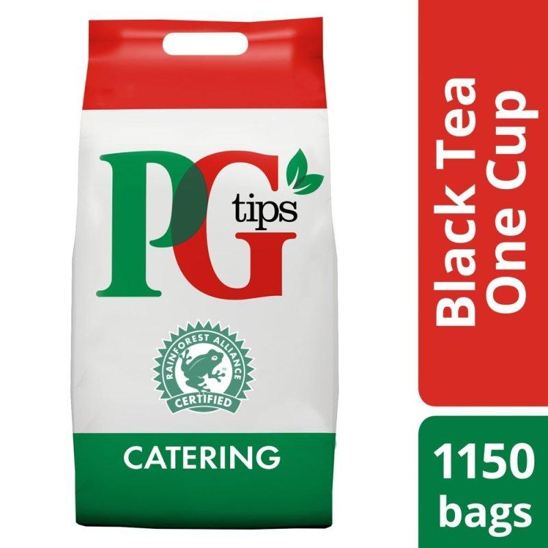 PG Tips Pyramid Tea Bags - 1100 Pack