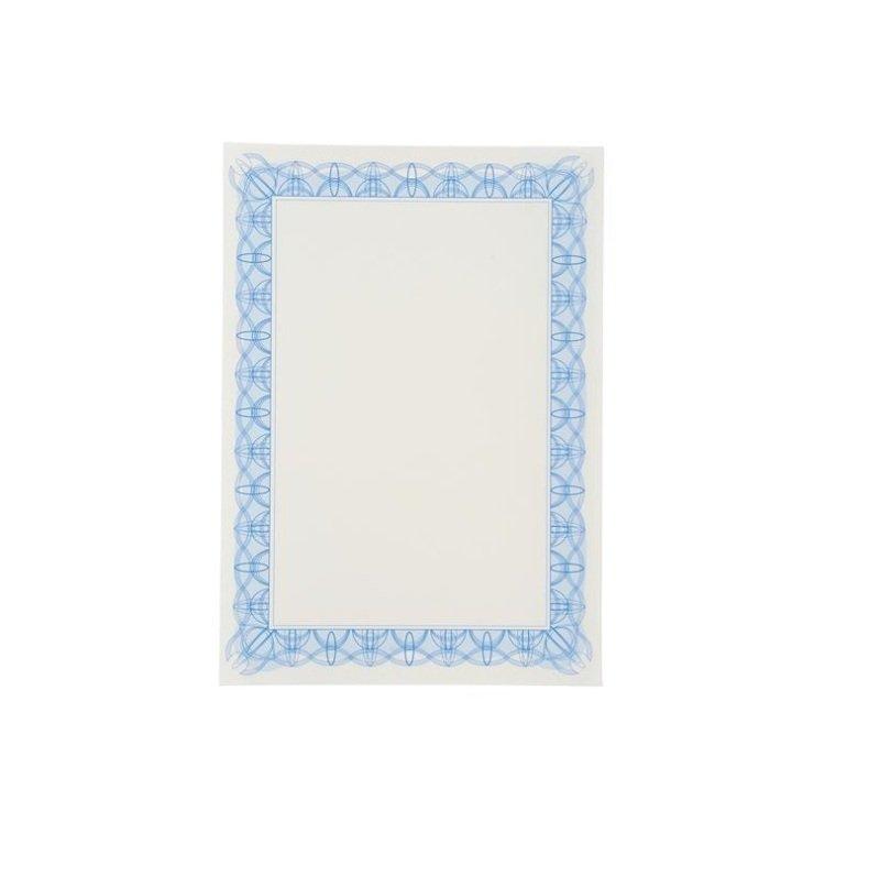 Computer Craft Certificate Paper Reflex Blue [Pack 30]