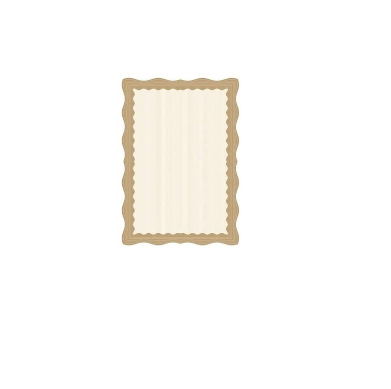 Computer Craft Certificate Paper A4 Bronze Wave [Pack 30]