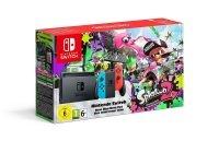 Nintendo Switch HW (Neon Red/Neon Blue) + Splatoon 2 Limited Edition Bundle