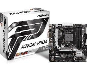 ASRock A320M Pro4 socket AM4 Intel DDR4 MicroATX...