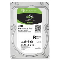 "Seagate BarraCuda Pro 4TB Desktop Hard Drive 3.5"" SATA III 6GB's 7200RPM 128MB Cache"