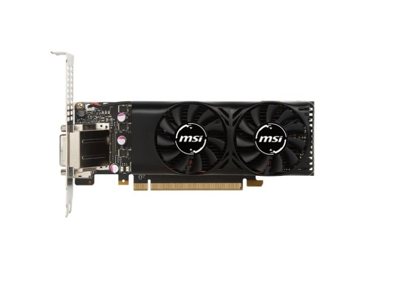 MSI GTX 1050 Ti 4GB LP Graphics Card