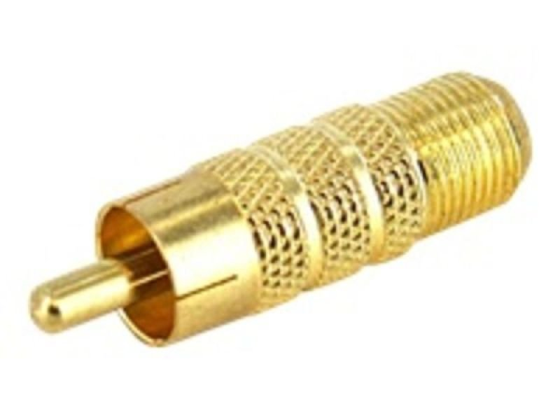 StarTech.com RCA to F Type Coaxial Adapter
