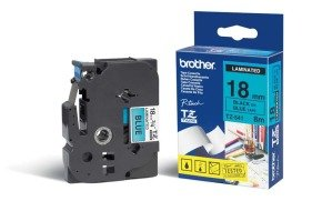 Brother TZ541 Label Tape - 19.05 mm Width x 7.99 m Length - Thermal Transfer - Blue - 1 Roll