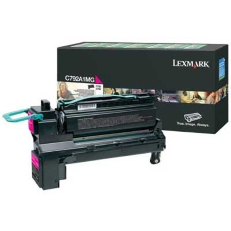 Lexmark Magenta C792 X792 Return Cartridge Toner Cartridge