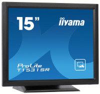 EXDISPLAY T1531SR-B3/15Touch 1024x768 DVI-D bk