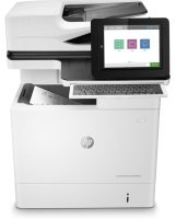HP LaserJet Enterprise Flow MFP M631h Network Printer...