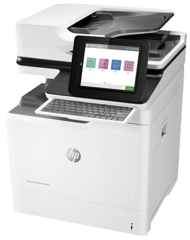 HP Colour LaserJet Enterprise MFP M681f Network printer