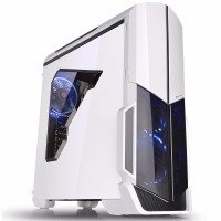 EXDISPLAY Thermaltake Versa N21 Snow White Midi Gaming Case CA-1D9-00M6WN-00