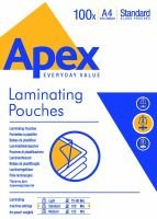 Fellowes Apex A4 Standard Laminating Pouch - 100 pack