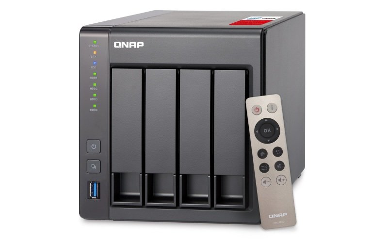 QNAP TS-451+-2G 40TB (4 x 10TB WD RED) 4 Bay NAS with 2GB RAM