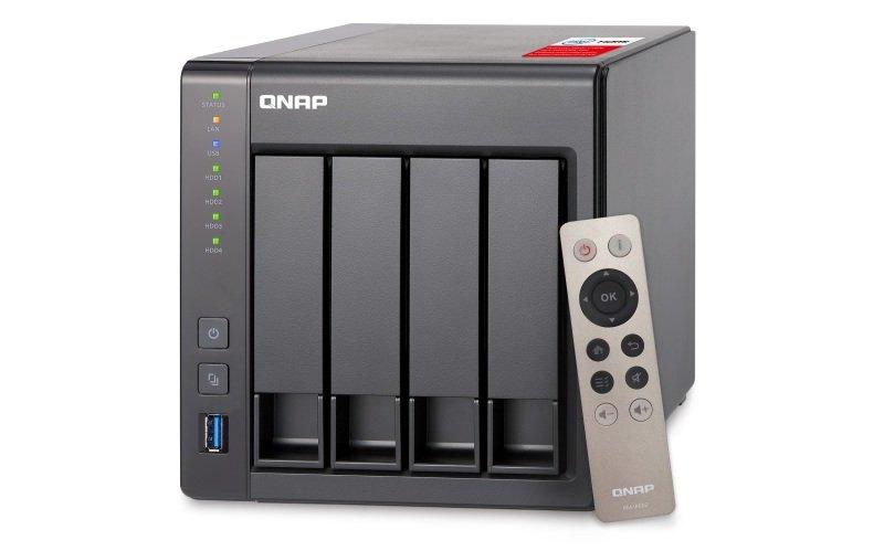 QNAP TS-451+-8G 40TB (4 x 10TB WD RED) 4 Bay NAS with 8GB RAM