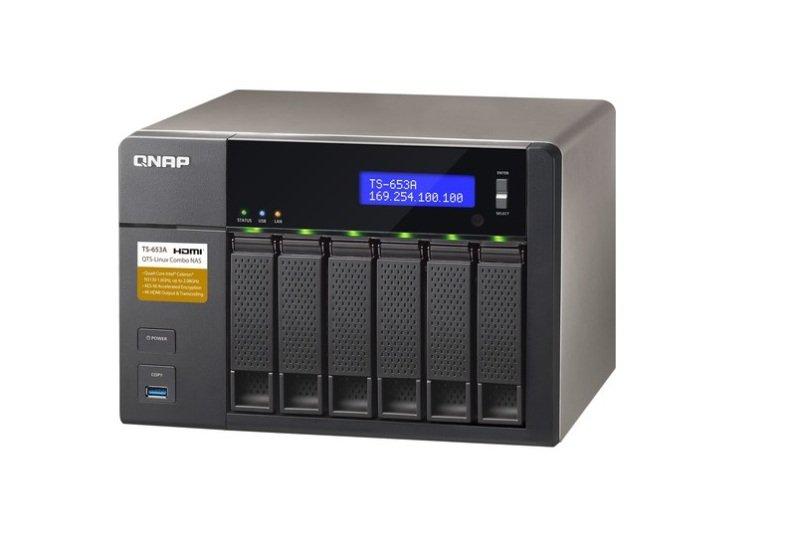 QNAP TS-653A-8G 60TB (6 x 10TB WD RED) 6 Bay Desktop NAS with 8GB RAM