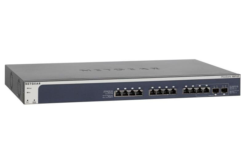 Netgear ProSAFE XS712T v2 12 Port Smart Switch