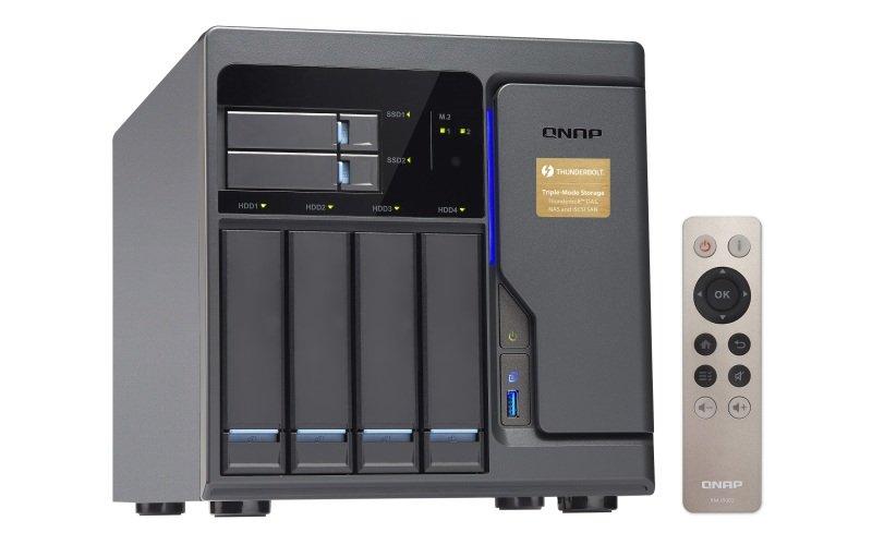 QNAP TVS-682T-i3-8G 24TB (4 x 6TB WD RED PRO) 6 Bay NAS with 8GB RAM