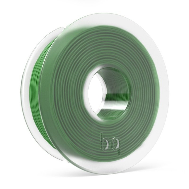BQ PLA Green Filament 1.75mm