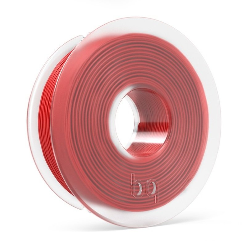 BQ PLA Red Filament 1.75mm
