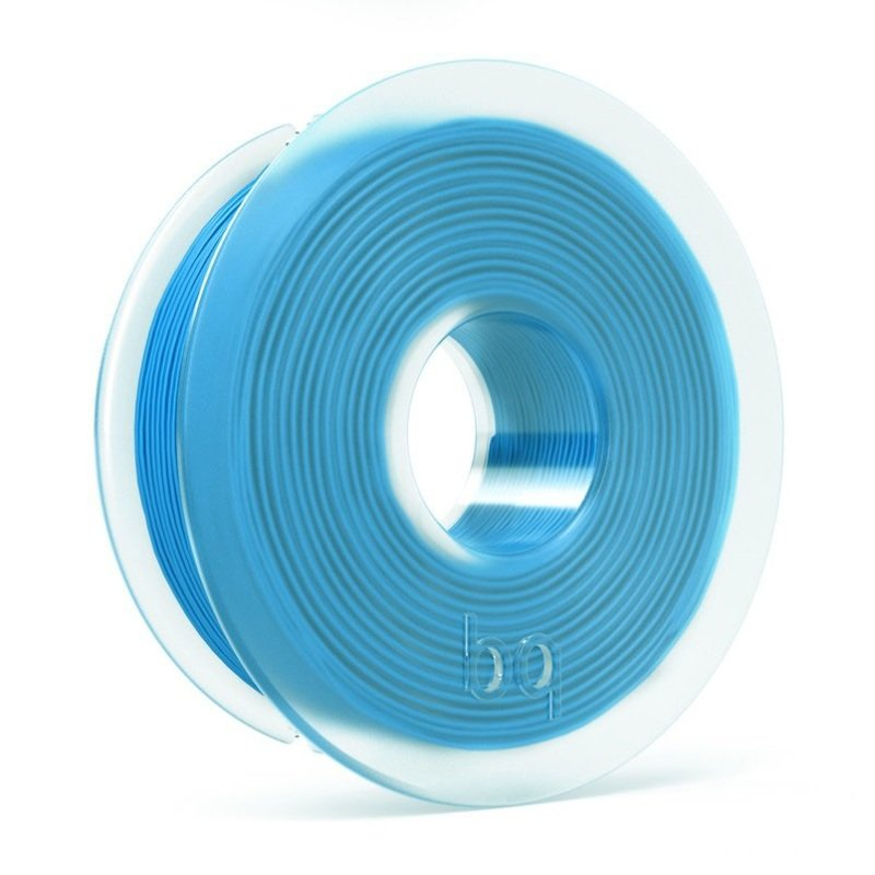 BQ PLA Topaz Blue Filament 1.75mm