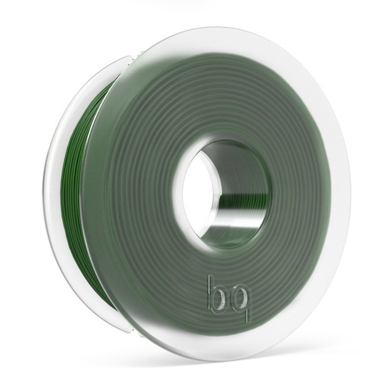 BQ PLA Bottle Green Filament 1.75mm