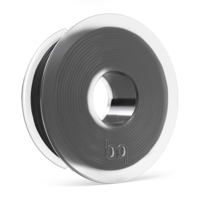 Image of BQ PLA Coral Black Filament 1.75mm