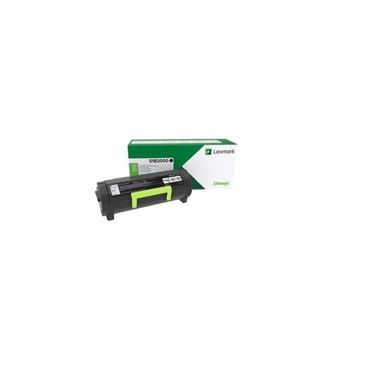 Lexmark Black Return Programme Toner Cartridge