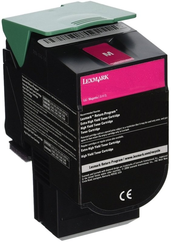 Lexmark 15K Magenta Return Program Toner Cartridge