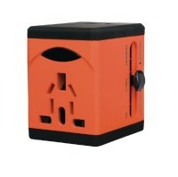 Swordfish VariPlug Univers Orange Travel Adapter