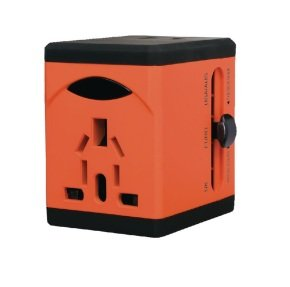 Swordfish VariPlug Univers Orange Travel Adapter