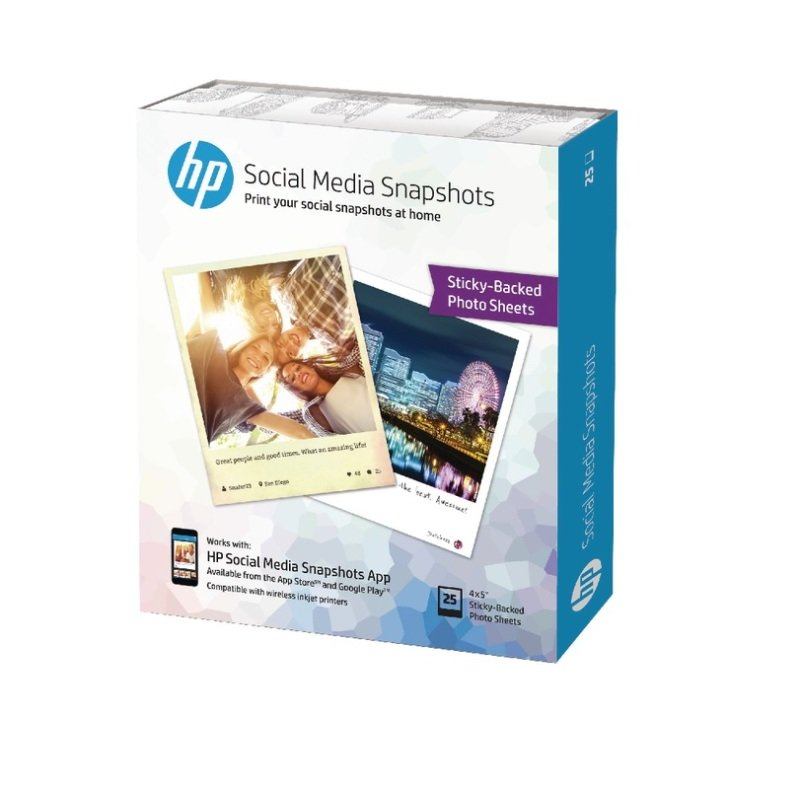 HP Photo Paper-25 Sheets