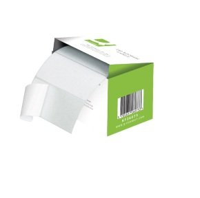 Q-Connect Adhesive Address Label Roll 76 x 50mm (1500 Pack)
