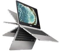 """EXDISPLAY ASUS Chromebook Flip C302CA Intel Core m3-6Y30 0.9GHz 8GB RAM 64GB eMMC 12.5"""" Full HD Touch No-DVD Intel HD WIFI Chrome OS"""