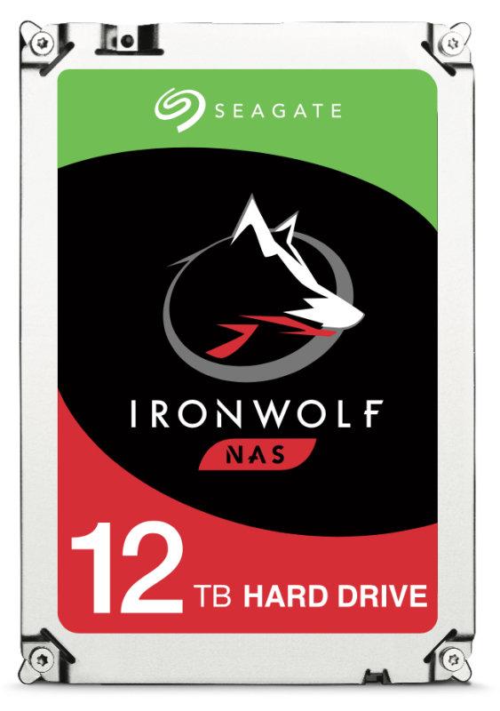 "Seagate IronWolf 12TB NAS Hard Drive 3.5"" SATA III 6GB's 7200RPM 256MB Cache"