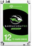 "Seagate BarraCuda Pro 12TB Desktop Hard Drive 3.5"" SATA III 6GB's 7200RPM 256MB Cache"