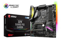 MSI Z370 GAMING PRO CARBON Socket LGA 1151 DDR4 ATX Motherboard