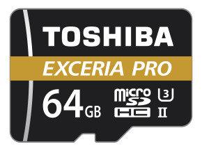 Toshiba 64GB M501 Exceria Pro USH2 MicroSD w/ Adapter