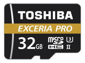 Toshiba 32GB M501 Exceria Pro UHS2 MicroSD w/ Adapter