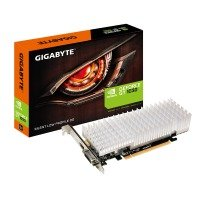 EXDISPLAY Gigabyte NVIDIA GT 1030 Silent Low Profile 2GB Graphics Card
