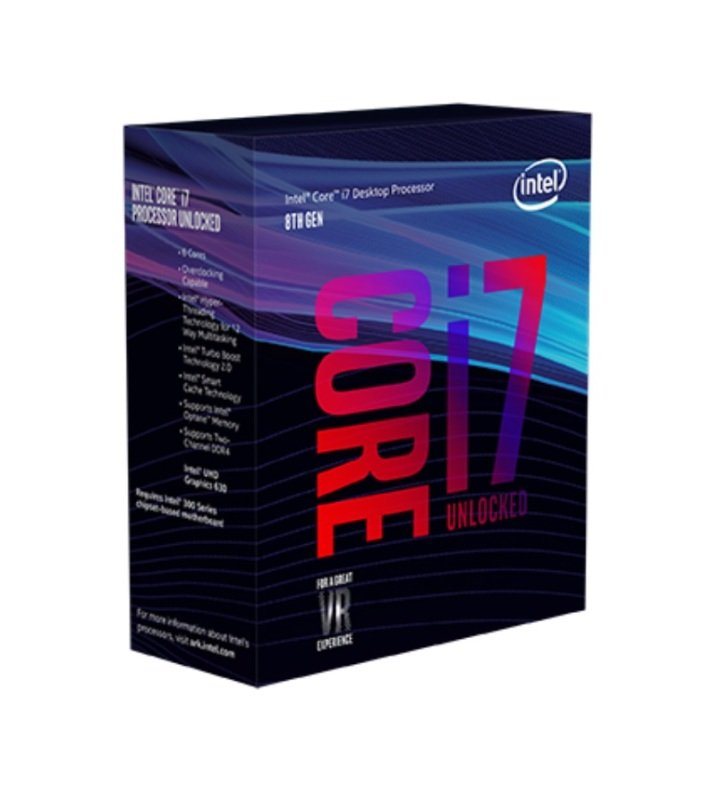 Intel Core i7 8700K 3.7GHz Socket 1151 Processor