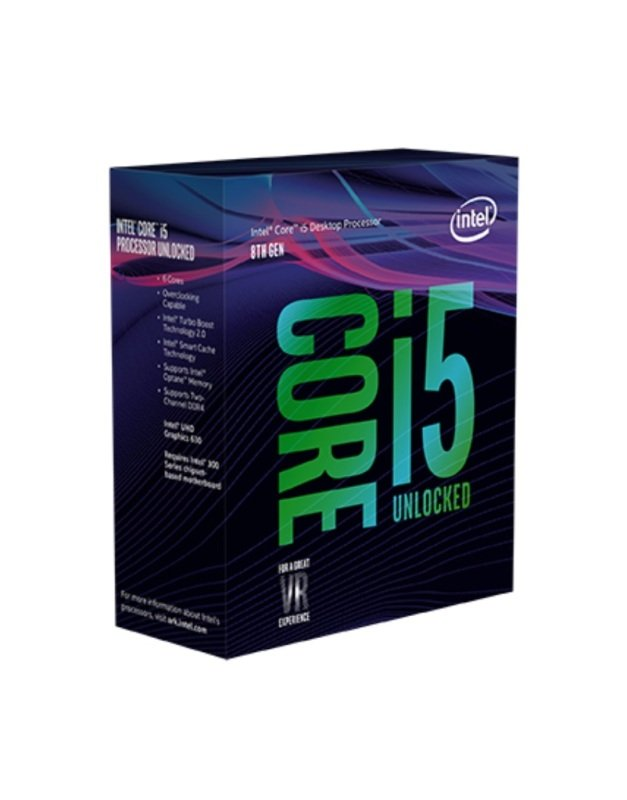 Intel Core i5 8600K 3.6GHz Socket 1151 Processor