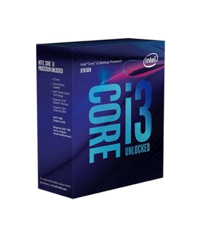 Intel Core i3 8350K 4.00GHz Quad Core Socket 1151 Processor