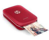 HP Sprocket Photo Wireless Photo Printer Red