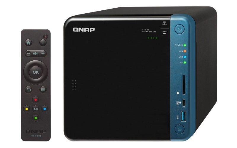 QNAP TS-453B-4G 32TB (4 x 8TB WD RED) 4 Bay NAS Unit with 4GB RAM