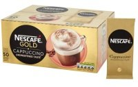 Nescafe GOLD Unsweetened Cappuccino Sachets - Box of 50