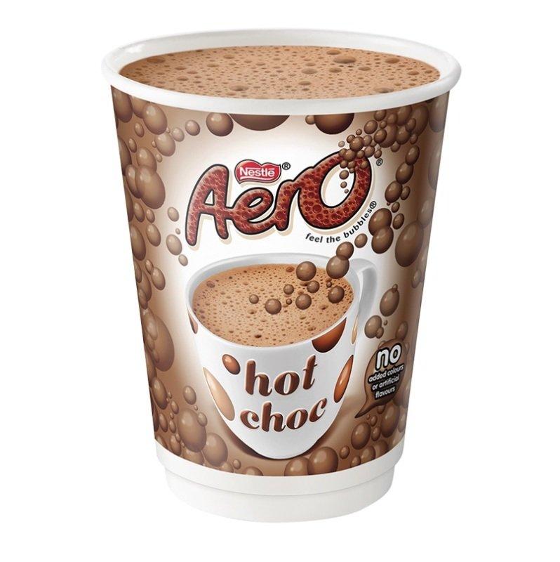 Nescafe And Go Aero Instant Hot Chocolate - 8 Pack