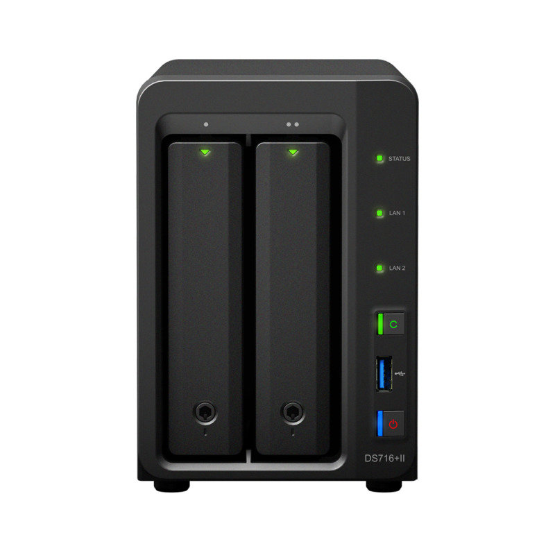 Synology DS718+ 2 Bay Desktop NAS Enclosure