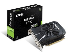 MSI GeForce GTX 1050 Ti AERO ITX 4G OC 4GB GDDR5 Graphics Card